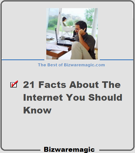 21 Facts About the Internet You Should Know - Yes, You!