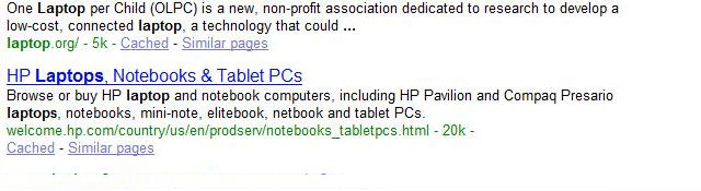 Google Brand Results