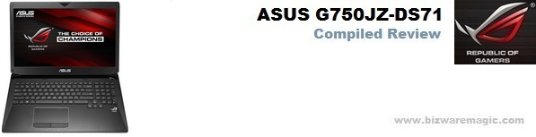 Asus G750 Compiled Review Banner
