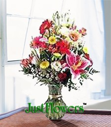 Just Flowers Logo