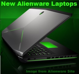 New Alienware Laptops