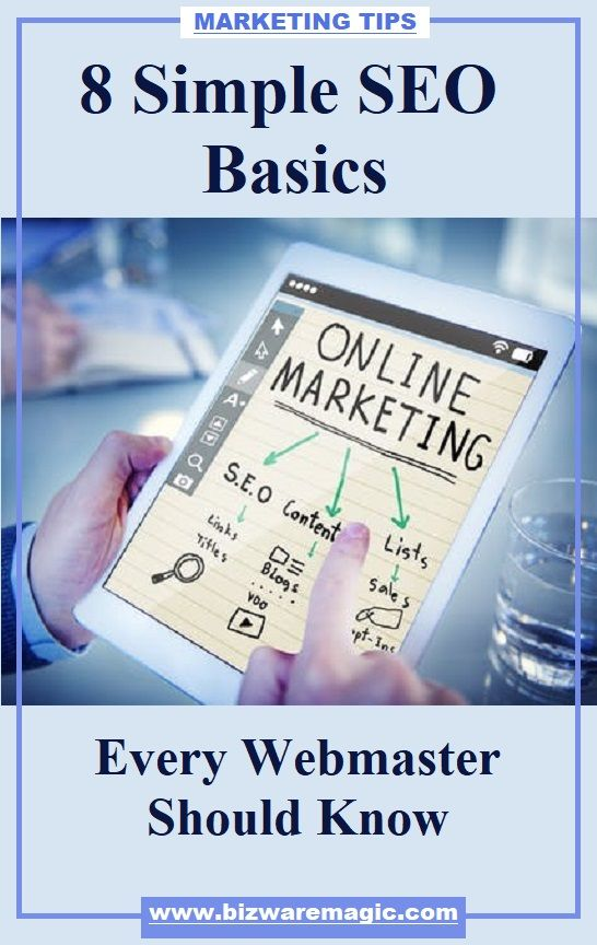 Online Marketing SEO Basics