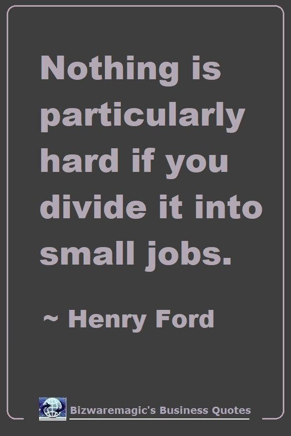 Herny Ford Business Quote
