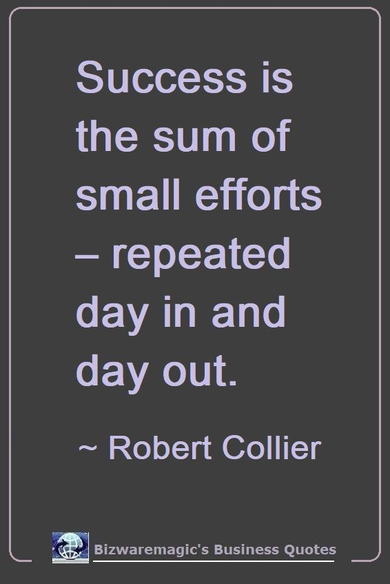 Robert Collier's Success Quote