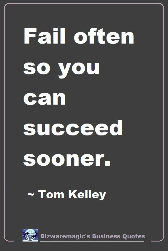 Tom Kelly Fail Quote