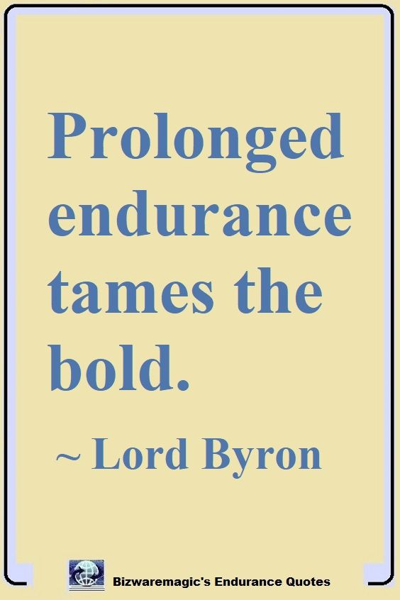 Lord Byron Endurance Quote